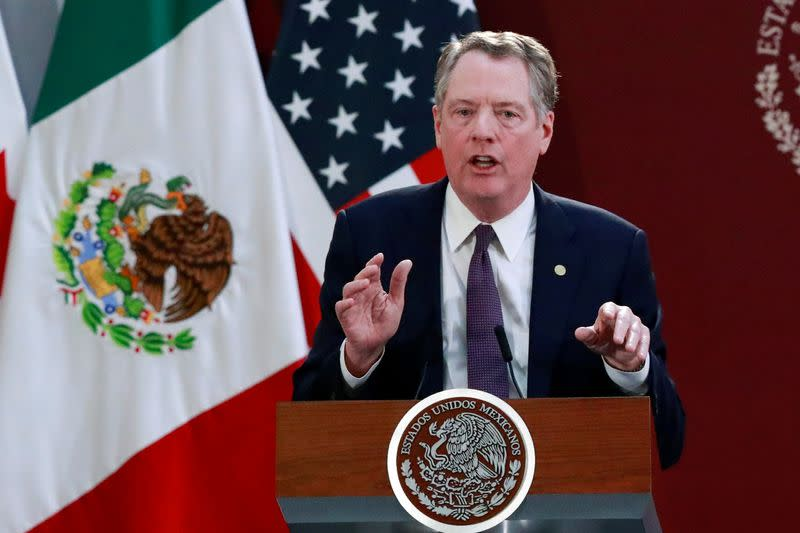Two deals in pocket but no holiday cheer for U.S. trade chief Lighthizer