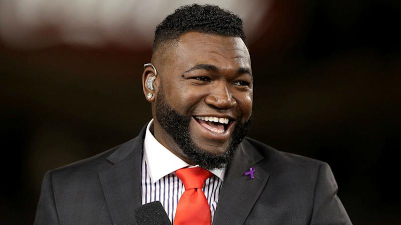 David Ortiz is back.... as a manager! (AP)