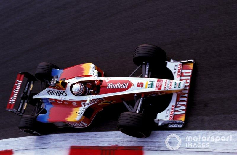 """Back in Formula 1 briefly, 1999 became a year to forget for Zanardi. <span class=""""copyright"""">Sutton Images</span>"""