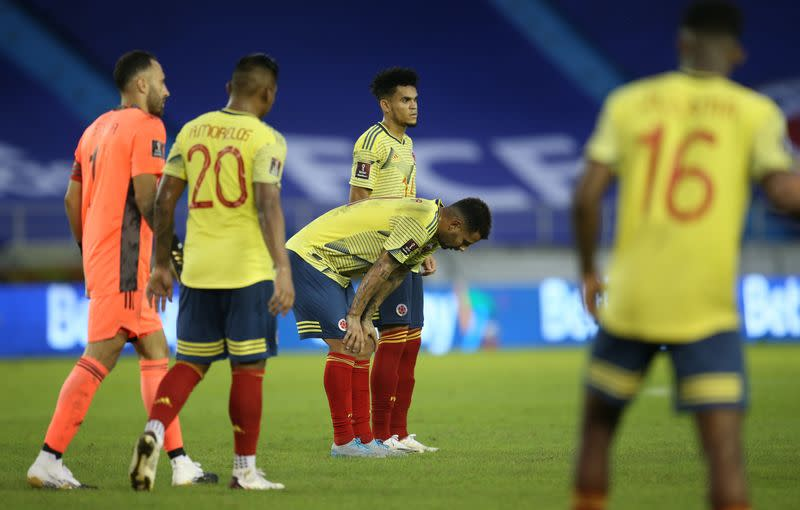 World Cup 2022 South American Qualifiers - Colombia v Uruguay