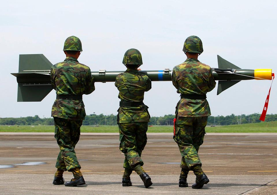Taiwan Tien Chien missile