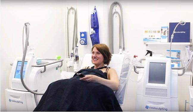 CoolSculpting works by freezing fat cells (Pulse Light Clinic)
