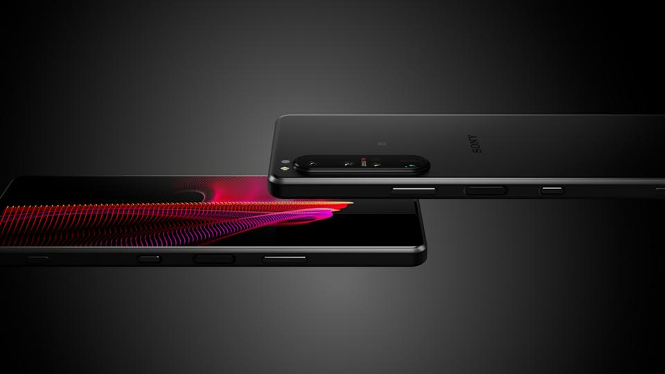 <p>Sony Xperia 1 III official images</p>
