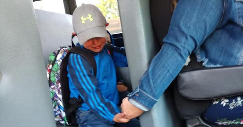 Bus Driver Holds Nervous 4-Year-Old's Hand on His First-Ever Day of School: 'Buddy, You Got This'