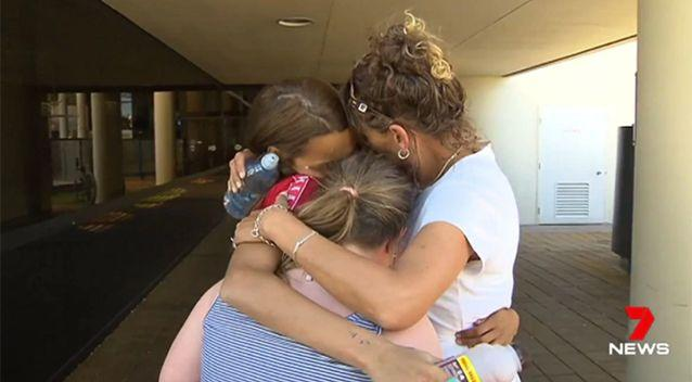 The family won't give up hope. Source: 7 News