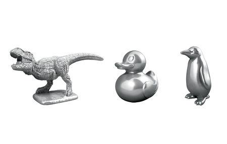 The newest additions to the roster of Monopoly tokens.   Hasbro Inc./Handout via REUTERS