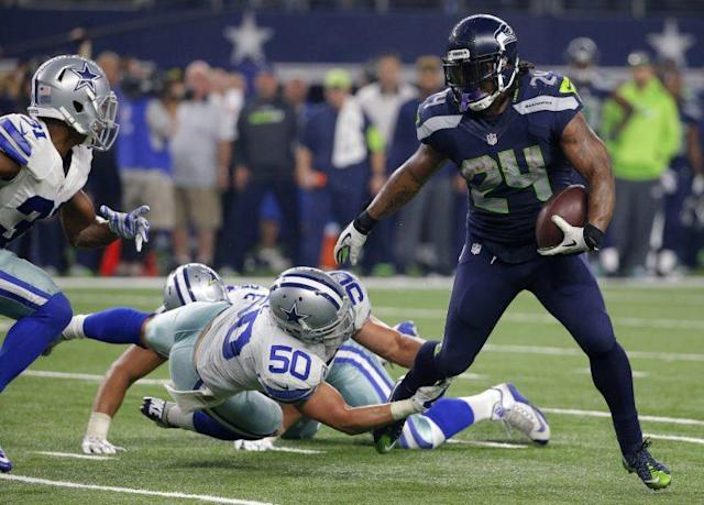 Marshawn Lynch has reportedly agreed to contract terms with the Raiders. (AP)