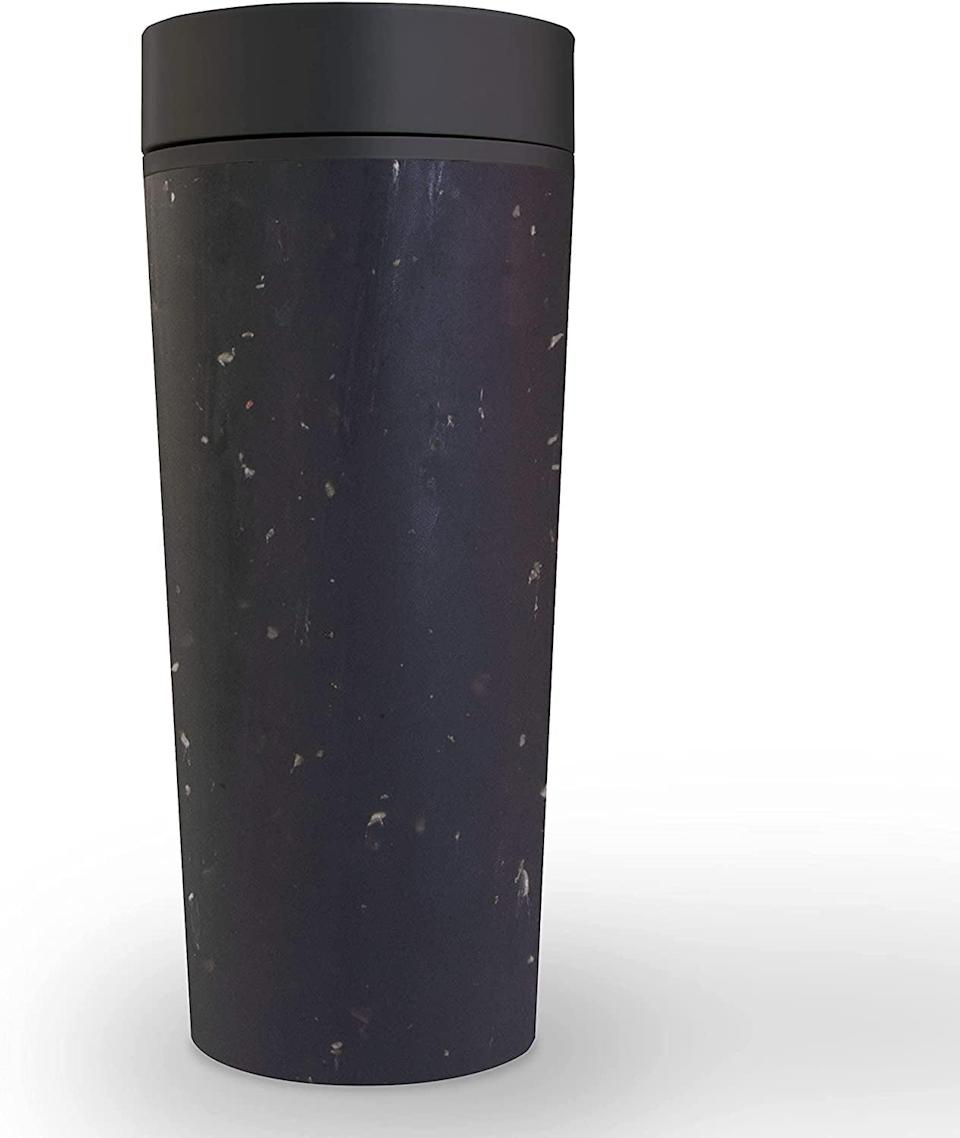 <p>The <span>Circular &amp; Co. Travel Mug </span> ($20) is made from recycled coffee cups. It's 100 percent leakproof, insulated, and so sleek.</p>