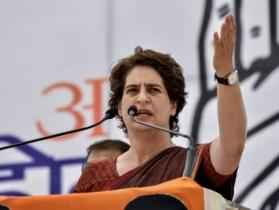 Priyanka taunts BJP for owning up Sardar Patel, staunch opponent to RSS