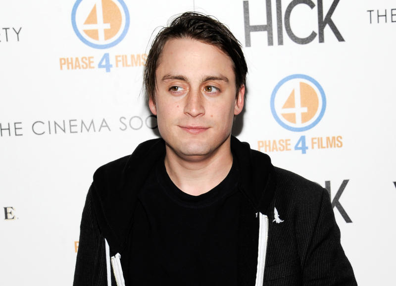 """FILE - This May 3, 2012 file photo shows actor Kieran Culkin at a special screening of """"Hick"""" hosted by Phase 4 Films and The Cinema Society in New York. Michael Cera and Kieran Culkin are slated to star together on Broadway in Kenneth Lonergan's play """"This Is Our Youth,"""" a comedy about the high times and aimless lives of two disaffected young men. (AP Photo/Evan Agostini, File)"""