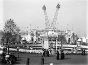 <p>London's Flip Flap was not a roller coaster — it was a viewing platform that could hold 50 people, then lift them 200 feet into the air. That gave them a view of the grounds of the Franco-British Exhibition, where it was housed.</p>