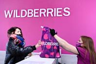 Wildberries allows customers to try out their orders at pick-up points and pay only for items they take home