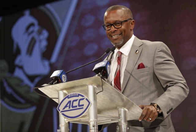 Willie Taggart takes over as the first-year head coach at Florida State with the football program in a position that few could have imagined during the dominant days of the 1990s. (AP)