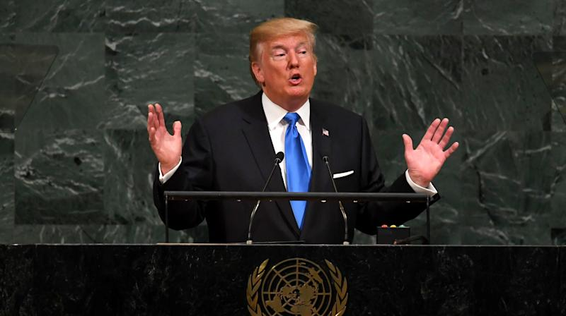 Trump's U.N. Speech Puts 'America First'