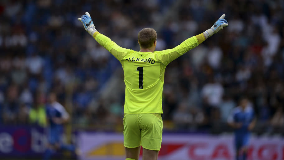 <p>As the most expensive British goalkeeper in history, you would have to hope that Pickford can keep a few clean sheets for Everton this season. Rising to prominence after excelling behind a Sunderland defensive unit about as unified as Korea, Pickford stole the headlines with a season of stunning saves.</p> <br /><p>Widely tipped as England's future number one, Pickford will certainly have a more robust defence in-front of him this season, affording him far more security.</p> <br /><p>The 23-year-old is more than ready to make the step-up, and will be right up there with the top keepers in the league in the battle for the Golden Glove.</p>