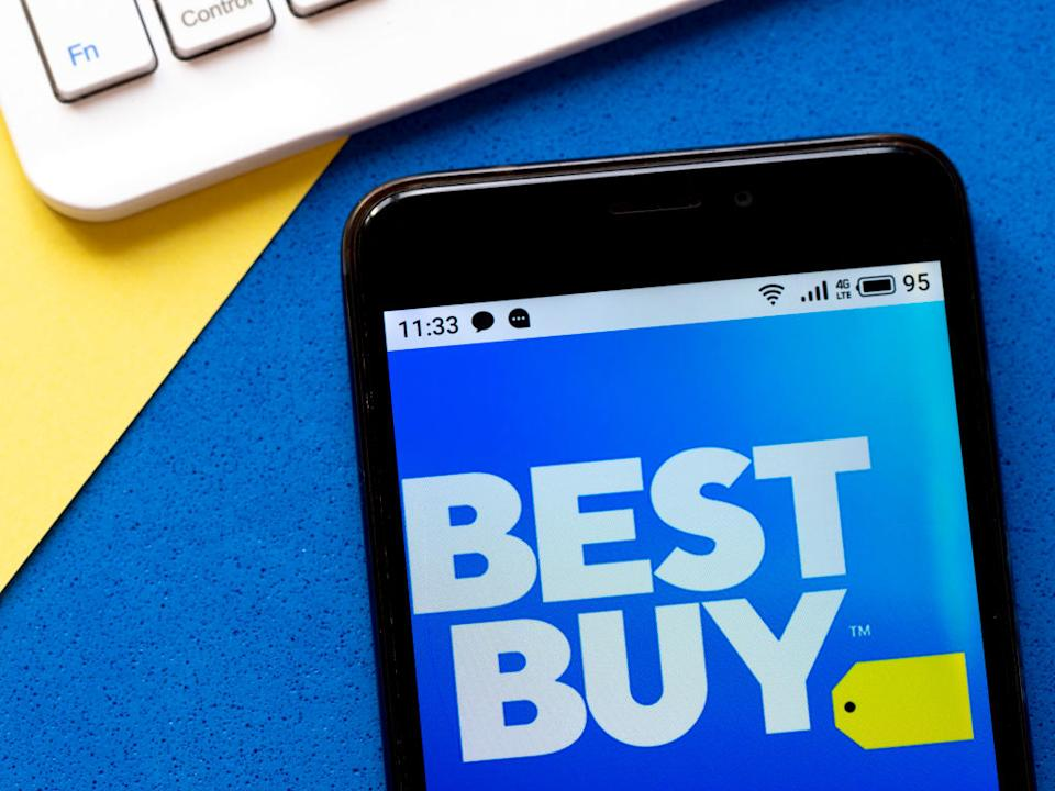 This weekend's sale extravaganza is here to remind us why it's not called Meh Buy or Okay Buy — it's Best Buy! Got it? Good. (Photo: Getty Images)