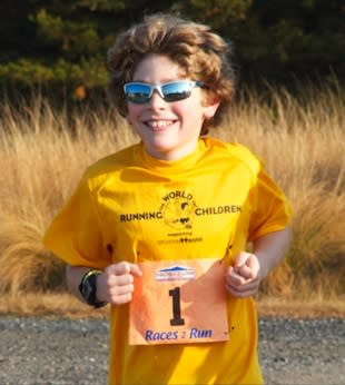9-year-old Nicholas Toocheck, who will run in Antarctica for charity — OperationWarm