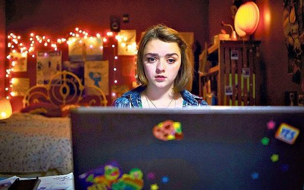 Masie Williams in the Channel 4 drama The Cyberbully - Channel 4