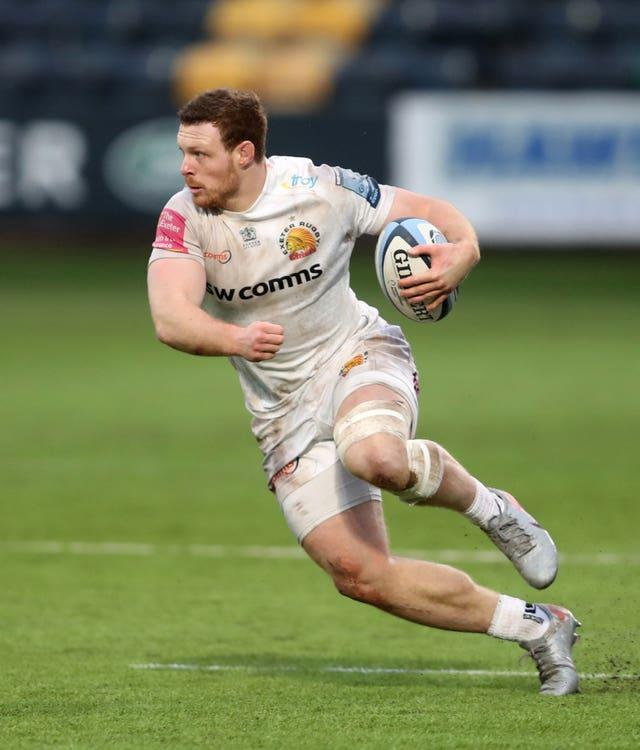 Exeter number eight Sam Simmonds is a bolter for the tour