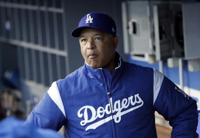 Los Angeles Dodgers manager Dave Roberts is ready to turn down an invite to visit the White House and President Donald Trump. (AP)
