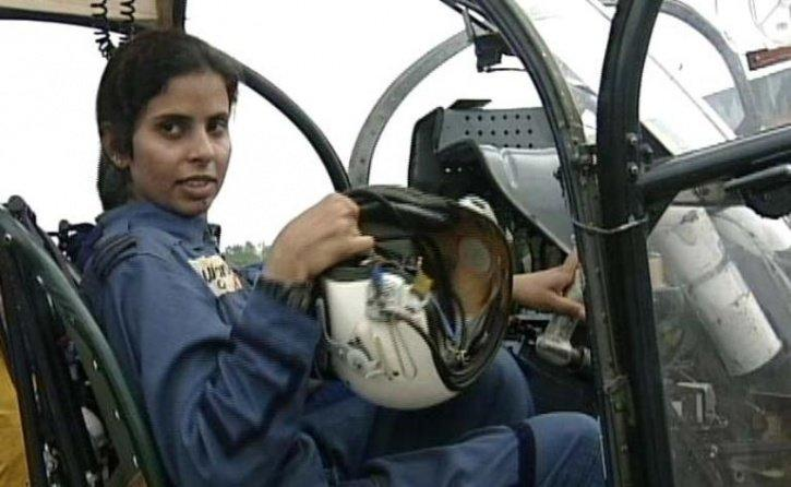 Flight Lieutenant Gunjan Saxena was the first woman IAF officers to go to war
