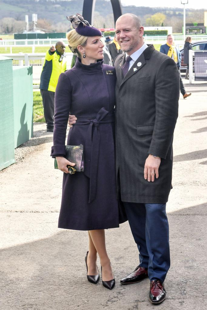Mike Tindall - pictured with wife Zara in March 2020 - has opened up about his father's battle with Parkinson's. Photo: Getty Images.