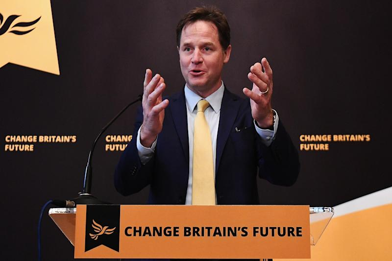 Clegg says Labour has 'forgotten how to do the most basic job of holding the Government to account': Getty