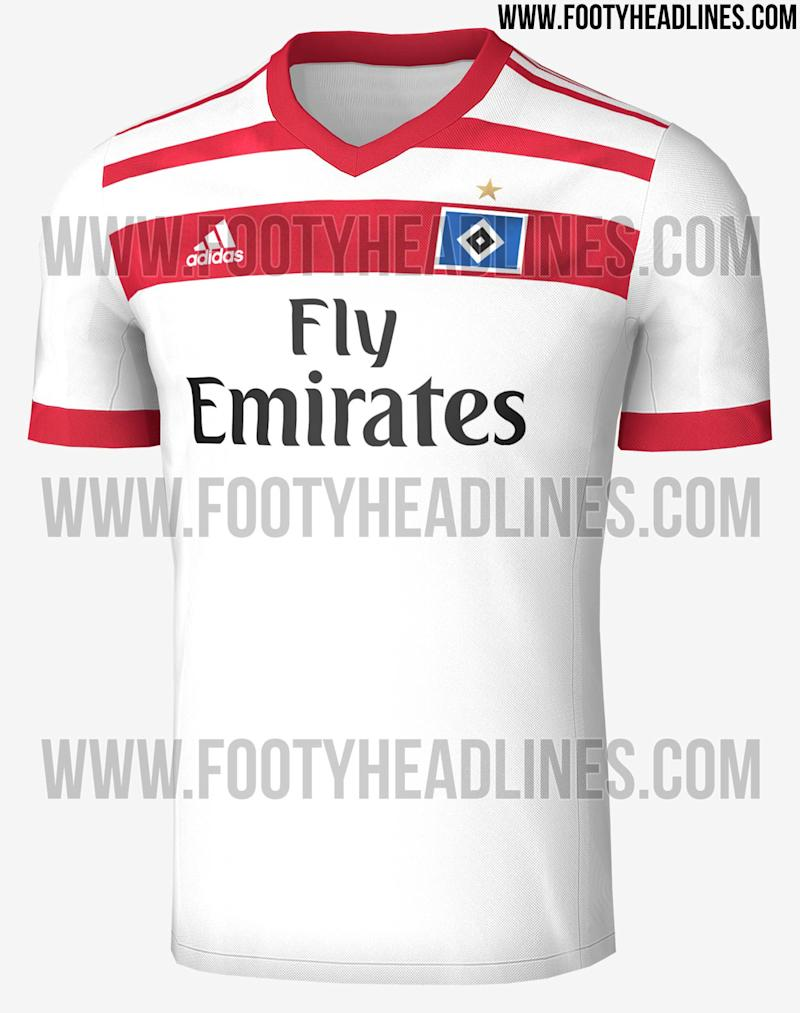 HSV Home Shirt 2017