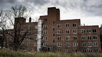 """<p><strong>San Haven Sanatorium - Dunseith, ND</strong></p><p>The San Haven Sanatorium, located just north of Dunseith, has been abandoned since the facility was shut down in the 1980s. The crumbling building is <a href=""""http://www.ghostsofnorthdakota.com/2012/10/03/haunting-and-abandoned-san-haven-sanatorium/"""" rel=""""nofollow noopener"""" target=""""_blank"""" data-ylk=""""slk:littered with tales of the supernatural"""" class=""""link rapid-noclick-resp"""">littered with tales of the supernatural</a> and is off limits to explorers. The sanatorium's dark history has been featured on the popular paranormal show, <em>Ghost Adventures</em>.</p>"""