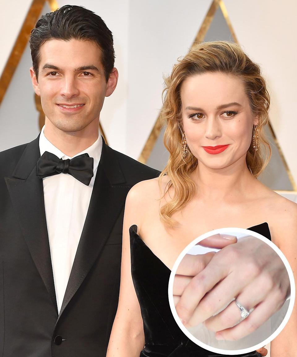 <p>The couple got engaged in the summer of 2016. The Phantom Planet singer proposed to the actress with a vintage round-cut stone ring. </p>