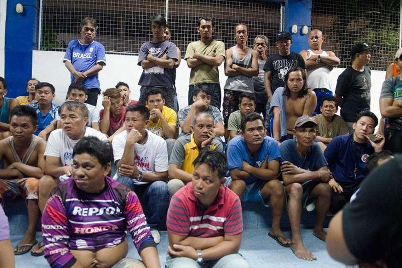 72 nabbed for involvement in high-stakes volleyball game