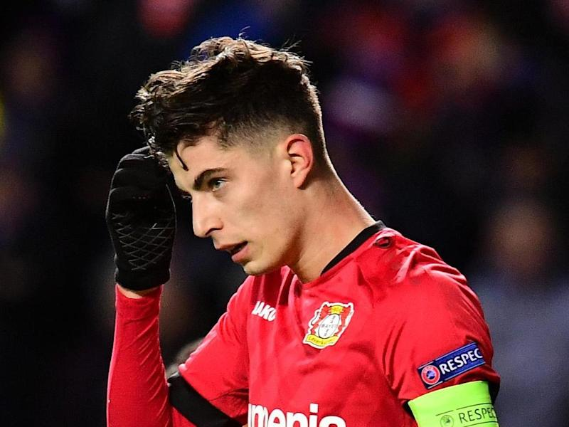 Kai Havertz has been linked to Chelsea: Getty Images