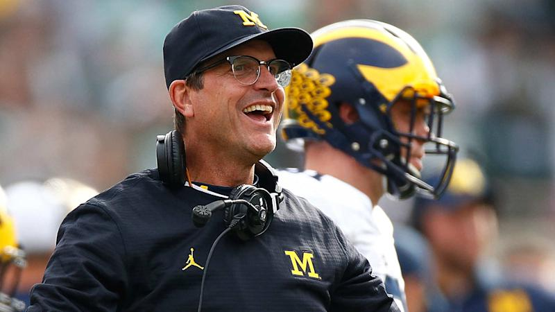 Michigan, Jim Harbaugh working on 'lifetime contract,' report says