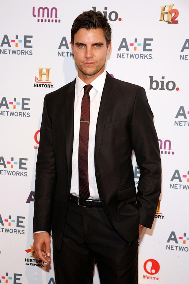 "Colin Egglesfield (Lifetime's ""The Client List"") attends the A&E Networks 2012 Upfront at Lincoln Center on May 9, 2012 in New York City."