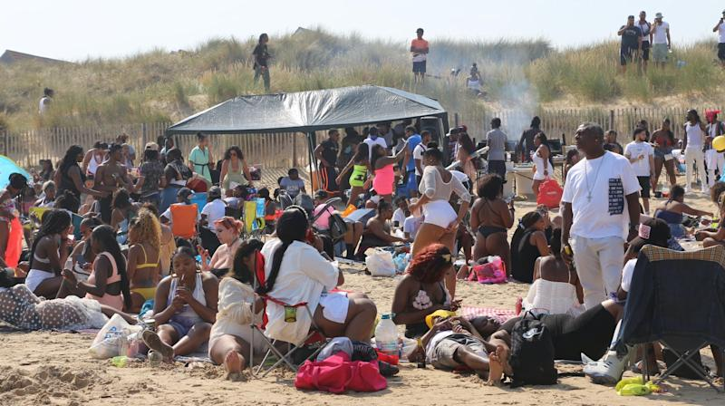 Beach cookout organisers admit it 'got out of hand' – but deny it was illegal