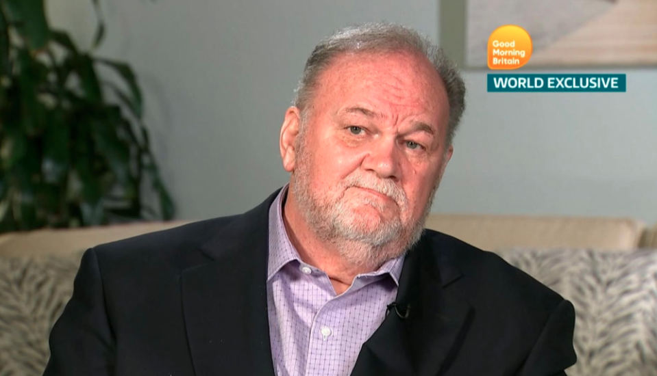 Thomas Markle on Good Morning Britain