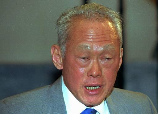Photo of LKY in October 1989. (AP Photo)