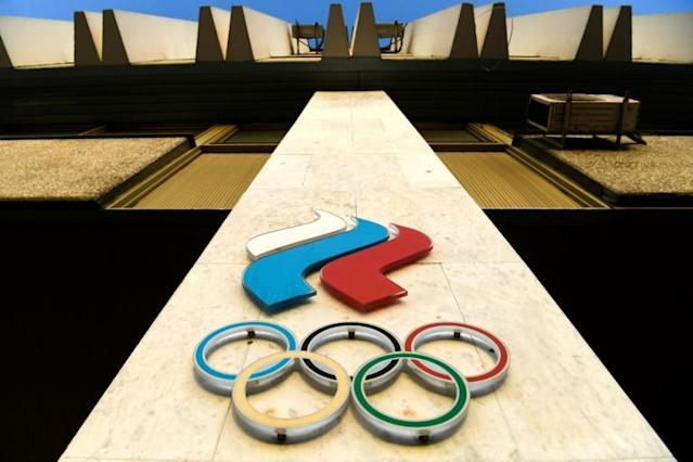 Russia risks being barred from the 2020 Tokyo Olympics (AFP Photo/Kirill KUDRYAVTSEV)