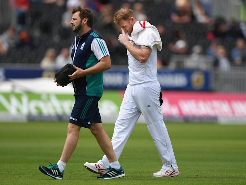 Ben Stokes suffered injuries last year on the pitch: Getty
