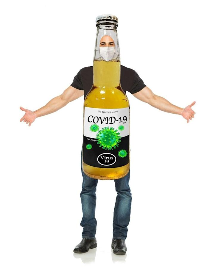 "The retailer Costume SuperCenter is selling this ""Corona virus"" Halloween costume. (Photo: Costume SuperCenter)"