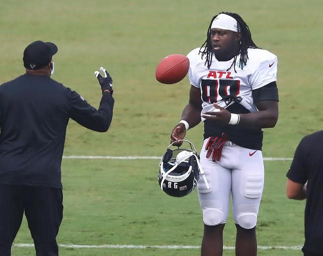 McKinley eager to prove Falcons wrong on fifth-year option