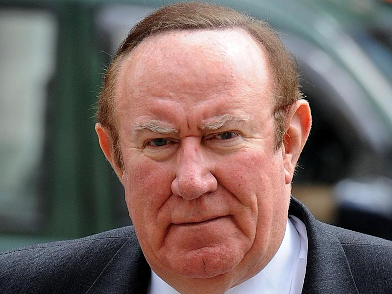 Andrew Neil fronted programmes by the BBC for 25 yearsPA