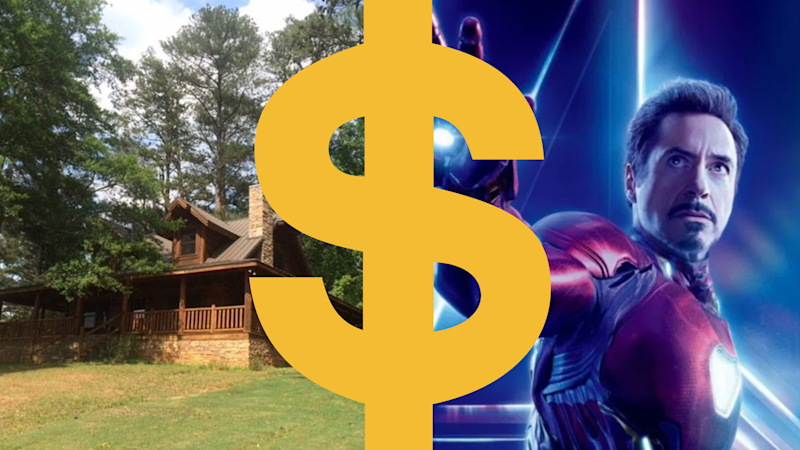 You could live like Tony Stark. Images: Walt Disney Studios Motion Pictures, Airbnb