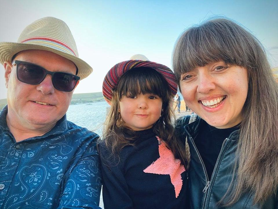 'I can see a fantastic future ahead,' says Charlotte Tarrant (pictured with her partner and their daughter)  (Charlotte Tarrant and Phil Bourne)