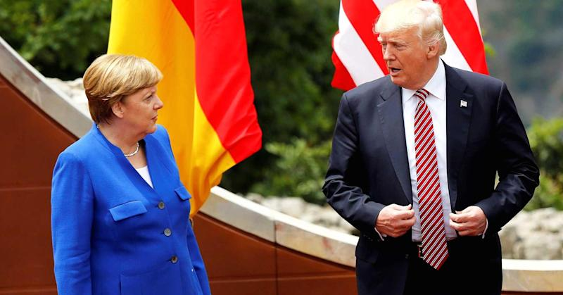 Trump says 'Germans are very bad': Spiegel