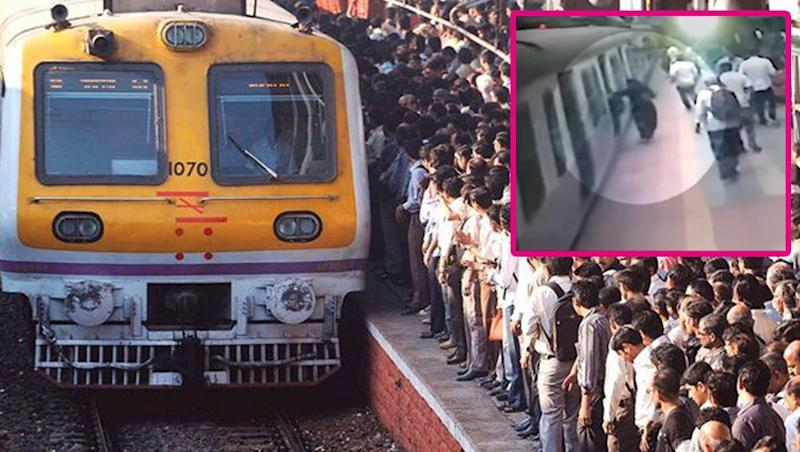 Mumbai Man Who Fell Off Local Train at Vidyavihar Station Escapes Death, But Gets Fined for Ticketless Travelling