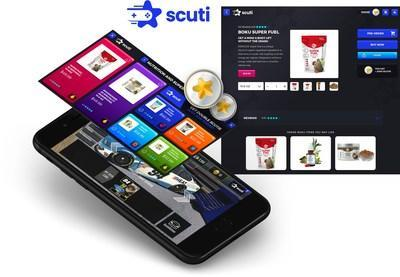Scuti's eCommerce marketplace is accessed through any Scuti-enabled games and lets brands market, sell and ship direct to game players.