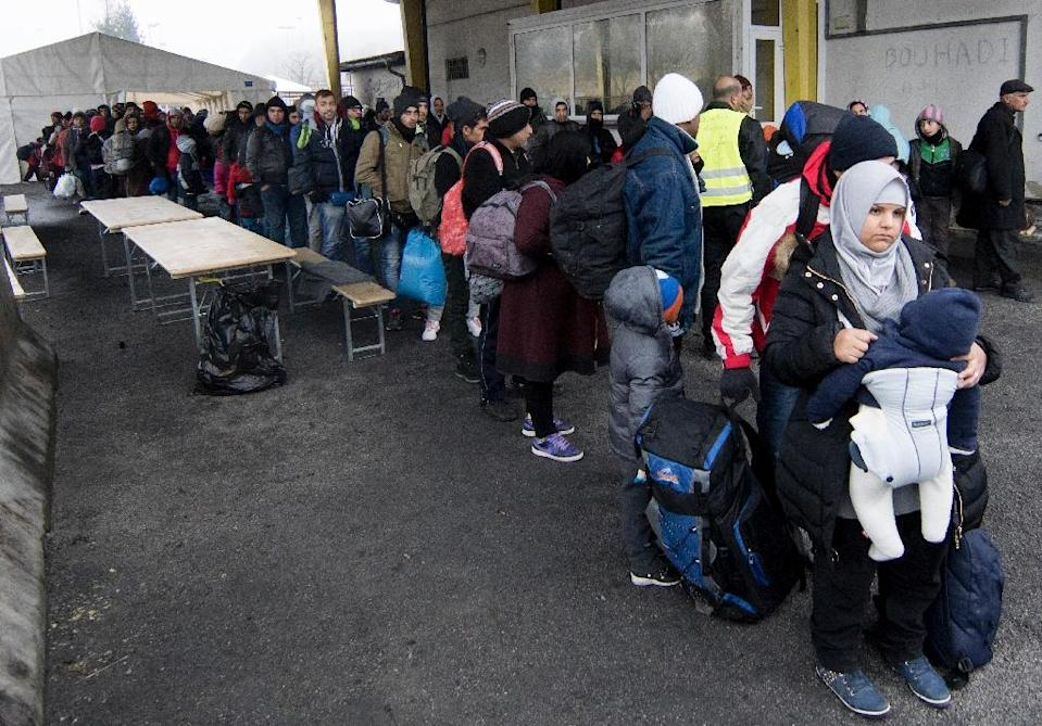 A maximum of 80 migrants per day are now being allowed to claim asylum in Austria, and Vienna is also limiting the daily number of people transiting through to seek asylum in a neighbouring state to 3,200 (AFP Photo/Joe Klamar)
