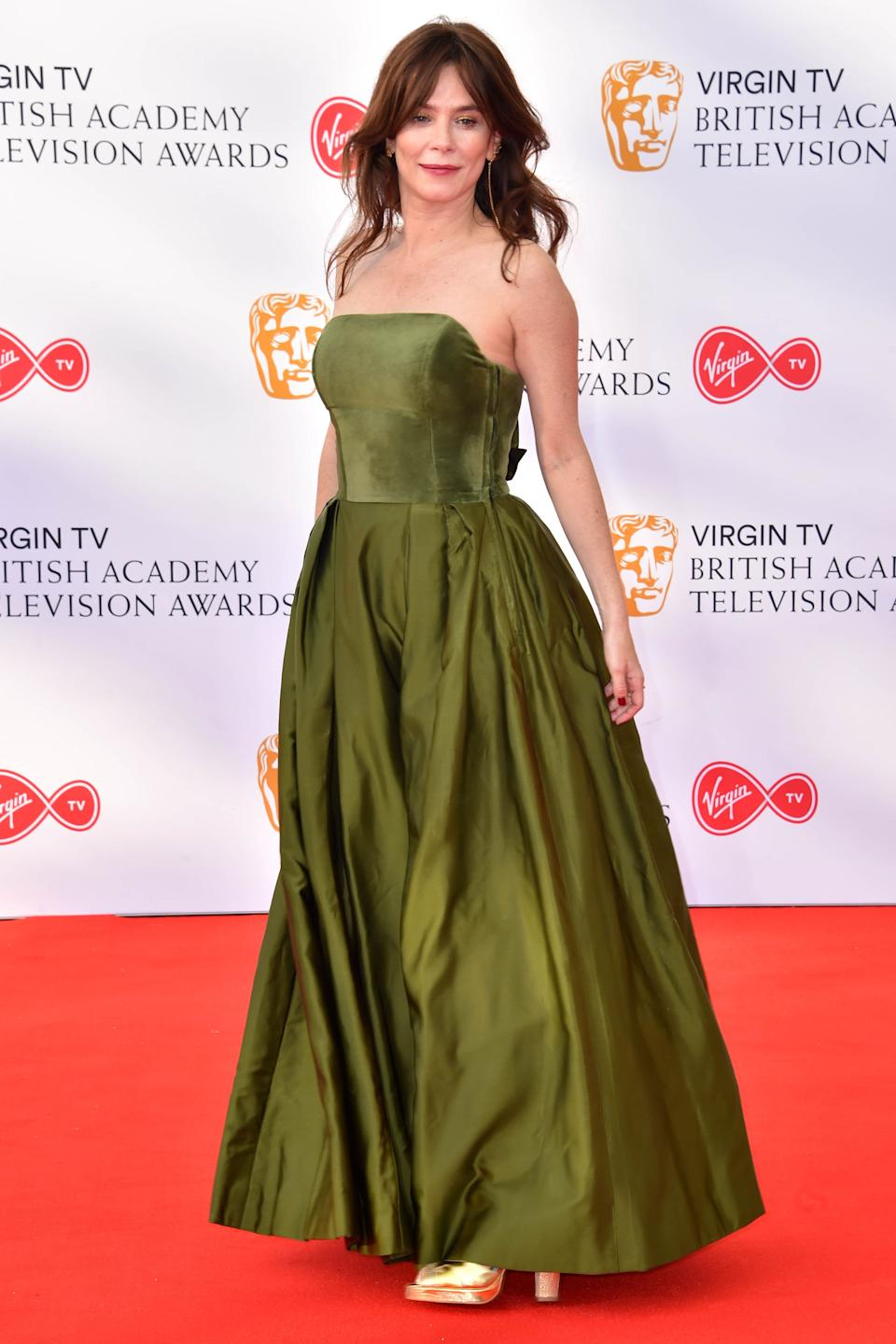 Anna Friel attending the Virgin TV British Academy Television Awards 2018 held at the Royal Festival Hall, Southbank Centre, London.
