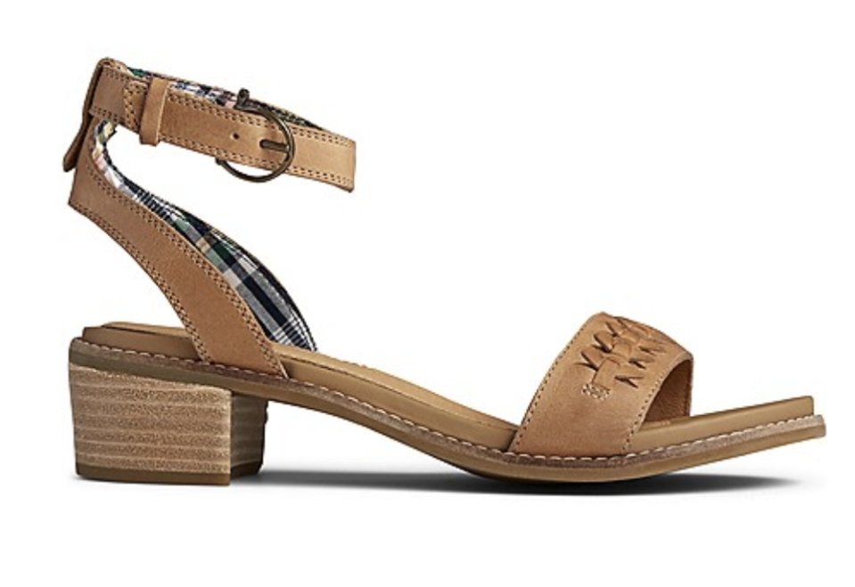 The comfiest pair of heeled sandals you'll own. (Photo: Sperry)
